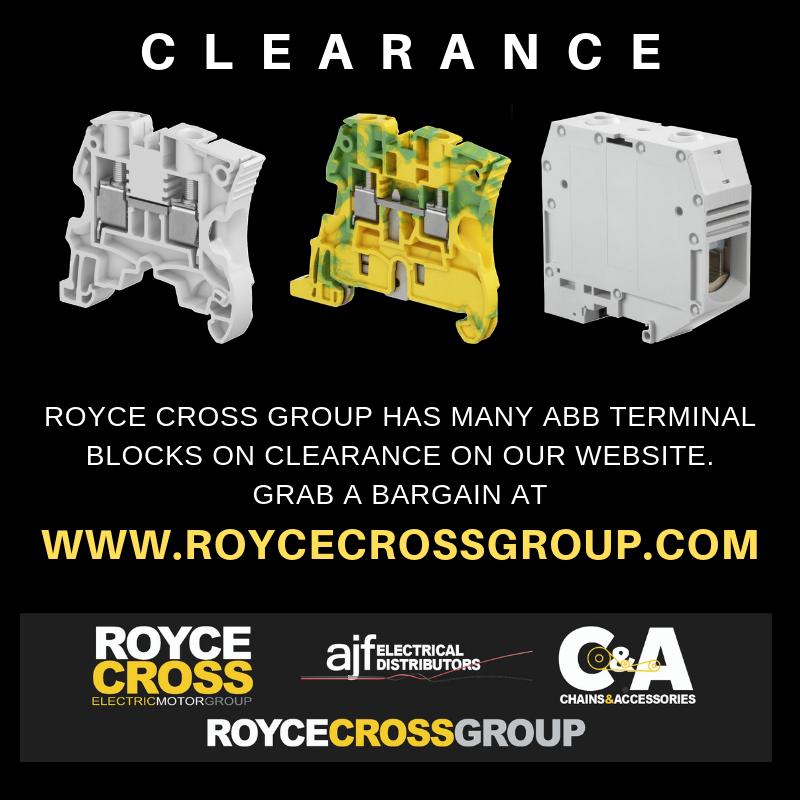 Terminal block clearance