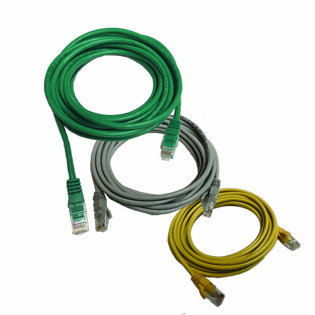 5m patch leads