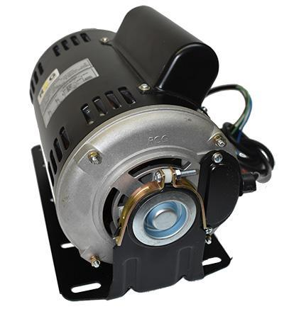 Belt-driven evaporative cooling motors