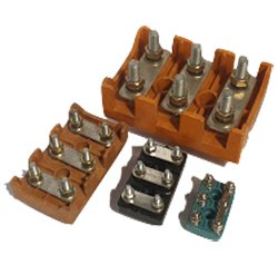 Electric motor terminal blocks