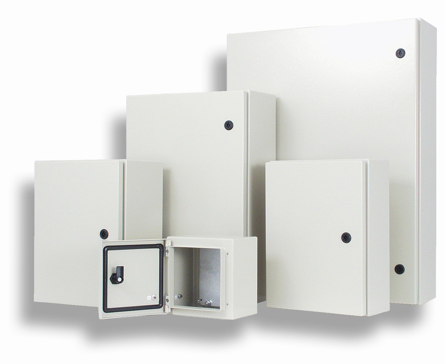 Metal enclosures