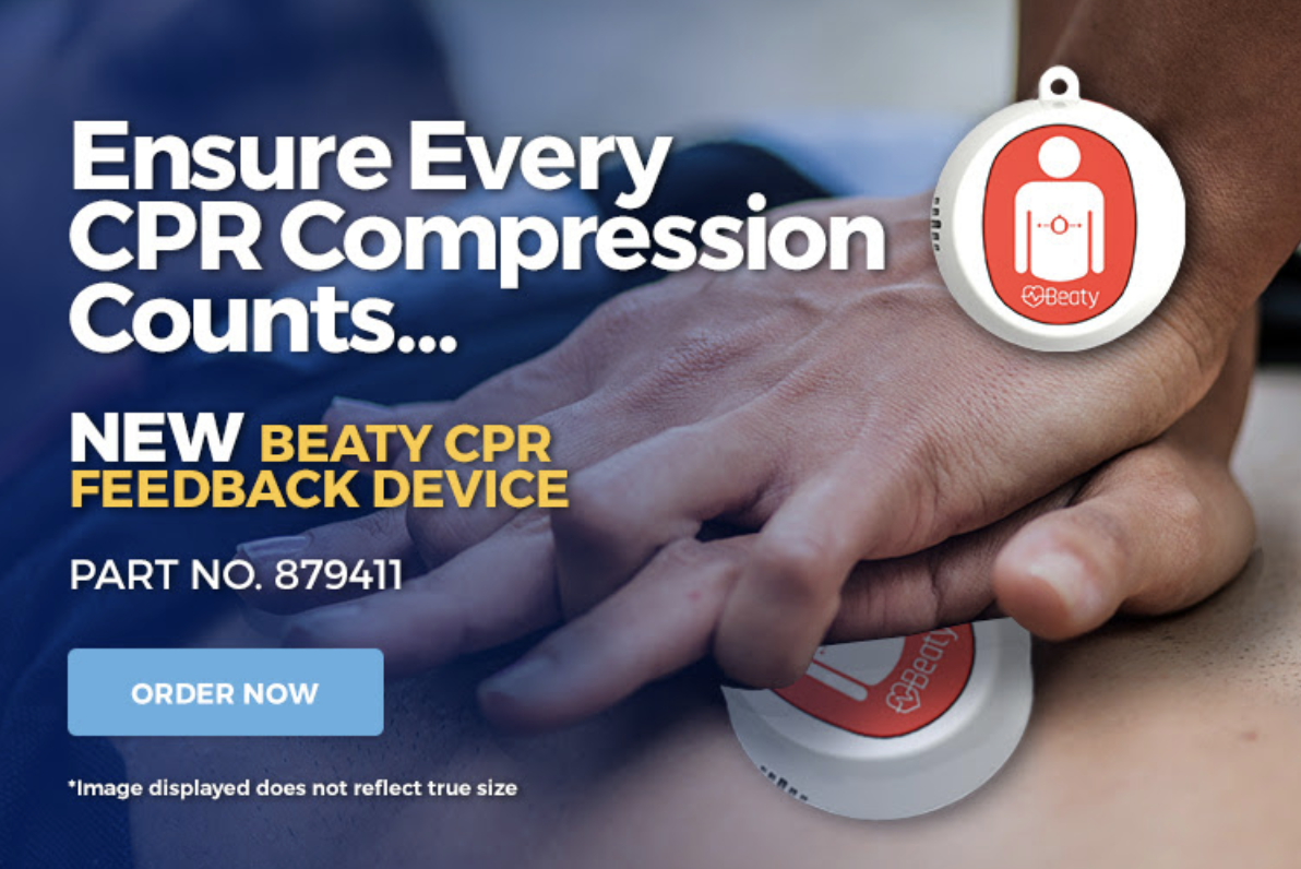 Save lives - order your Beaty CPR feedback device