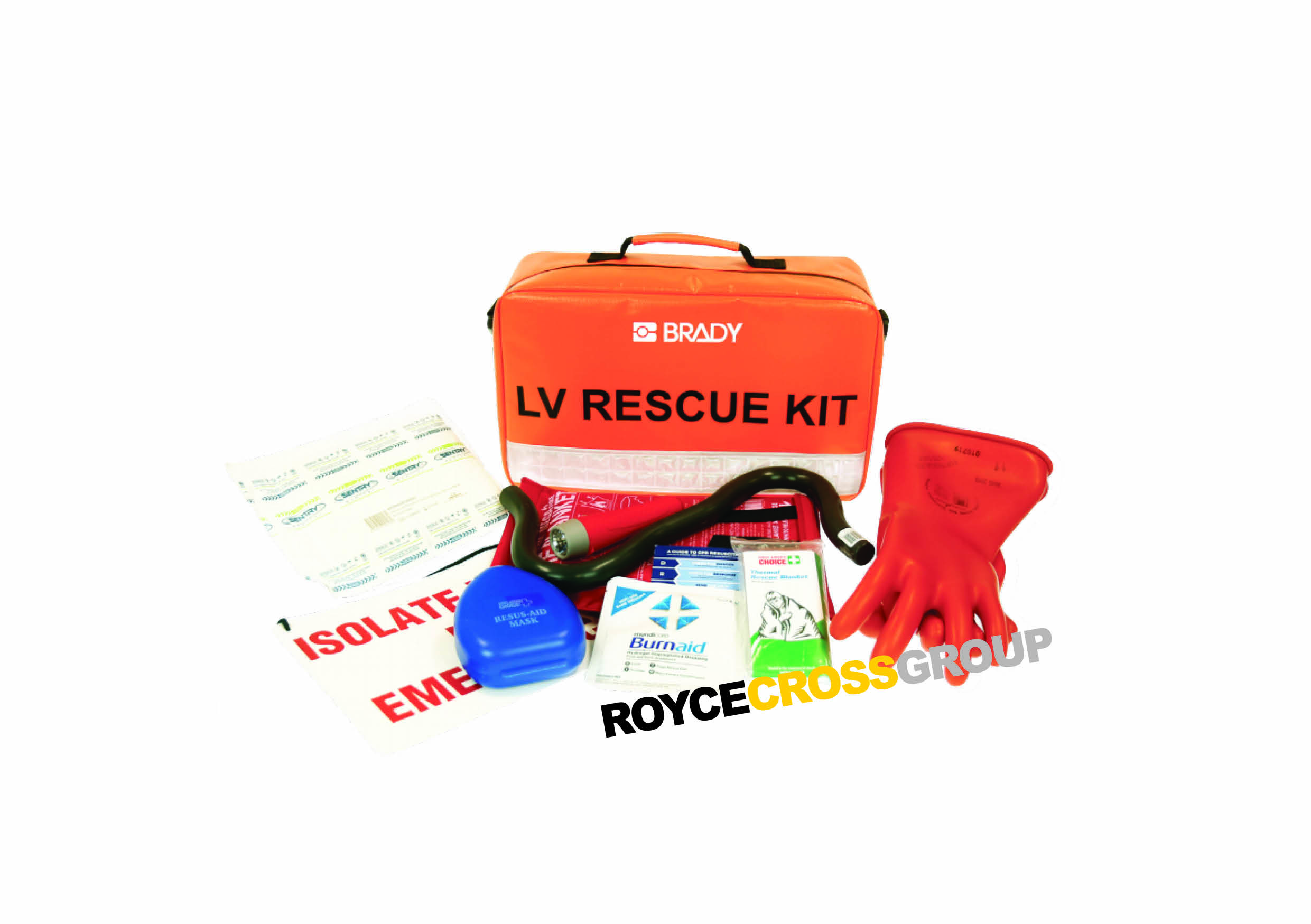 Introducing the new Brady LV rescue kit