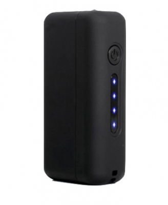 Black CUBO 2200mAH powerbank