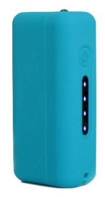 Blue CUBO 2200mAH powerbank