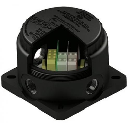 Hazardous Area Junction Box - Ex e IIC/nA IIC, t IIIC, IP66/68 - D88xH90, 4xM20