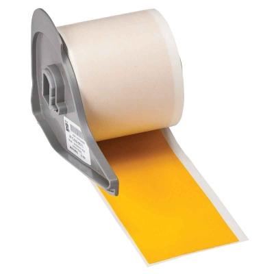 M71C-2000-595 Yl 50mm Yellow Indoor/Outdoor Vinyl Labels