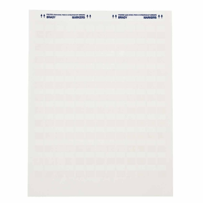 JET-30-117-2 Self Laminating Vinyl H12.7mm x W24.13mm B-117 Inkjet 2000 Pack Whi