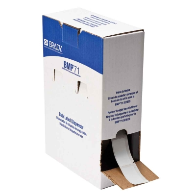 BPTL-21-427 Self Laminating Vinyl H19.05mm x W25.4mm (H63.5mm ) BMP61 BMP71* TLS