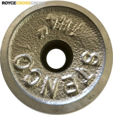 """1.25"""" PCD 1A Section Alloy Pulley 1/2"""" Bore"""
