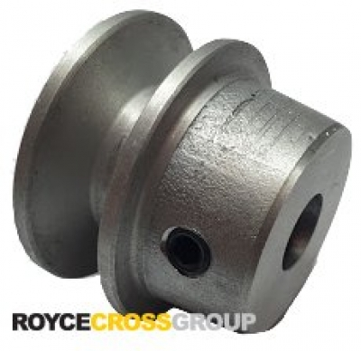 """1.5"""" PCD 1A Section Alloy Pulley 1/2"""" Bore"""
