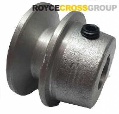 """1.5"""" PCD 1A Section Alloy Pulley 5/8"""" Bore"""