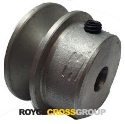 """1.75"""" PCD 1A Section Alloy Pulley 1/2"""" Bore"""