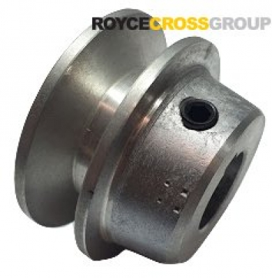 """1.75"""" PCD 1A Section Alloy Pulley 3/4"""" Bore"""