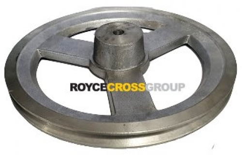 """10"""" PCD 1A Section Alloy Pulley 1/2"""" Bore"""