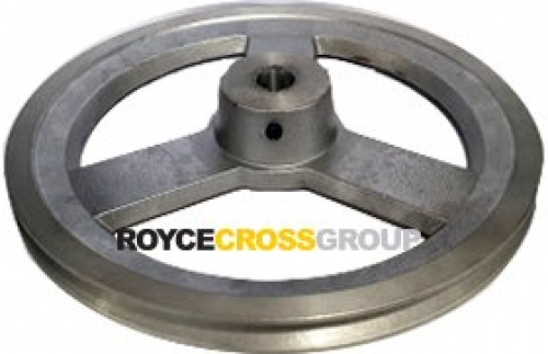 """10"""" PCD 1A Section Alloy Pulley 3/4"""" Bore"""