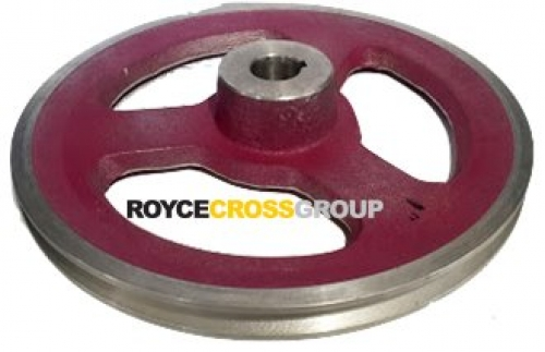 """10"""" PCD 1A Section Alloy Pulley 1"""" Bore"""