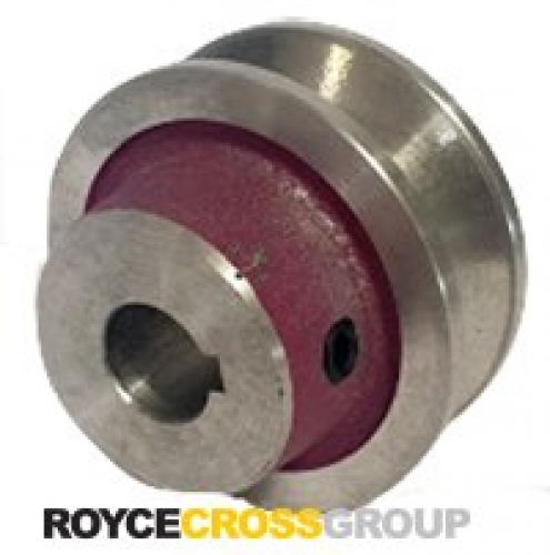 """2"""" PCD 1B Section Alloy Pulley 5/8"""" Bore"""