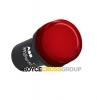 Compact Red Pilot Light 24V AC/DC