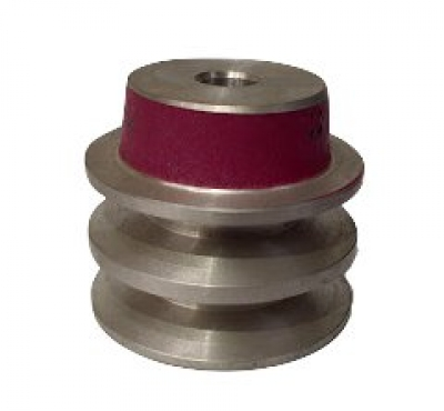 "2"" PCD 2A Section Alloy Pulley 1/2"" Bore"