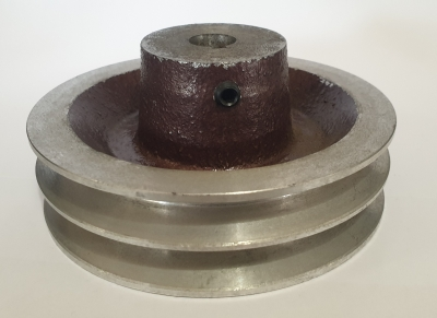 "4.5"" PCD 2A Section Alloy Pulley 5/8"" Bore"