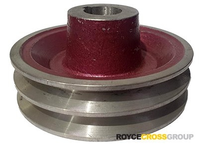 "4.5"" PCD 2A Section Alloy Pulley 1"" Bore"