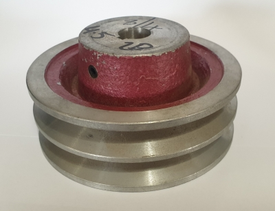 "4.5"" PCD 2B Section Alloy Pulley 3/4"" Bore"