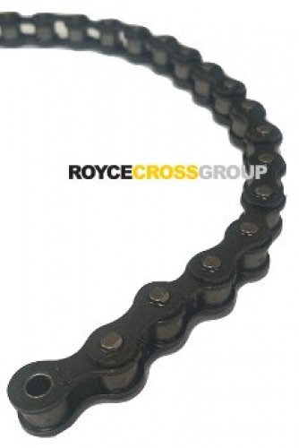 "ASA 38 Chain - Cycle Chain 1/2"" Pitch x 3/16"" Wide"