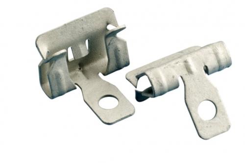 Hammer-on flange clip - side mount - 14-20mm