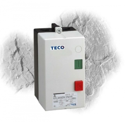 Starter Dol TECO 5.5kW 415v 12.5A Over Load