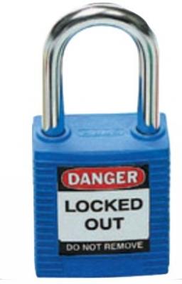 Brady Safety Plus Padlock - Blue