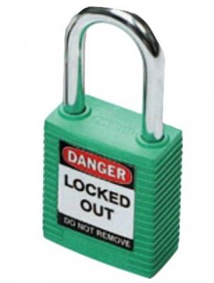 Brady Safety Plus Padlock - Green