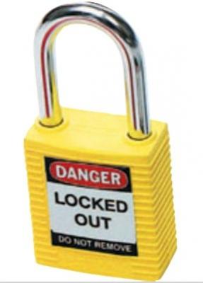 Brady Safety Plus Padlock - Yellow