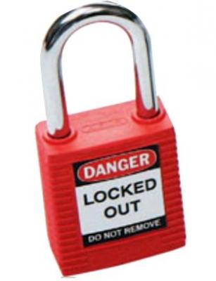 Brady Safety Plus Padlock - Red
