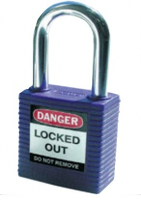 Brady Safety Plus Padlock - purple
