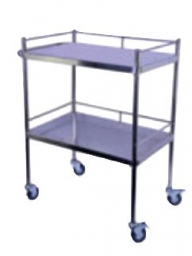 Dressing trolley 750x750x450mm