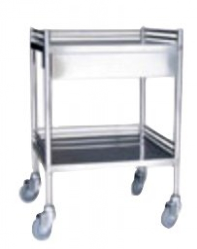 Dressing trolley with drawer 450x750x350mm