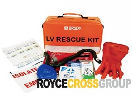 Low-voltage rescue kit