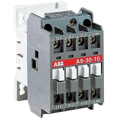 Contactor 3 Phase 4kW 110/50 -01 AUX