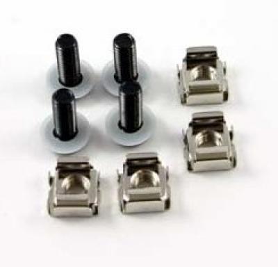 Cage nut kit: 1 screw; 1 nut; 1 washer