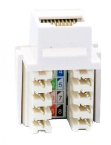 Cat 5e keystone media socket