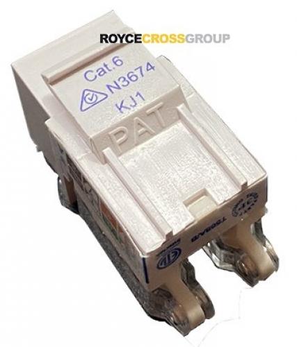 Cat 6 keystone media socket