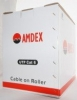 Amdex 4 Pair Cat6 UTP Cable - 305m Box