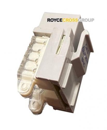 Cat 3 8P4C keystone media socket