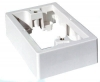 37mm white surface mounting block