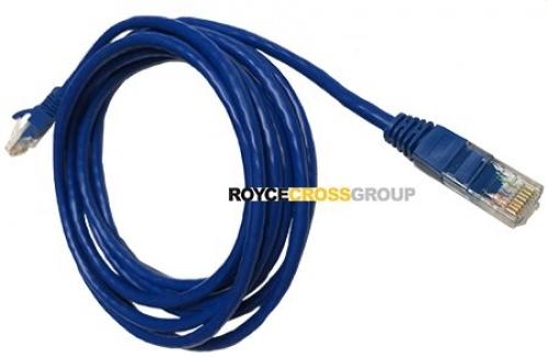 3m cat 5e blue patch lead