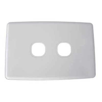 Two-gang classic wall plate