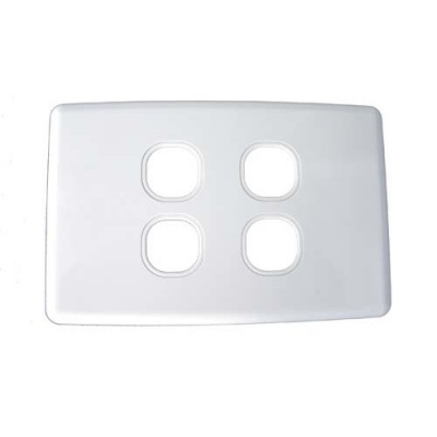 Four-gang classic wall plate