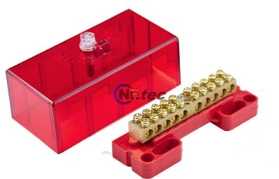 100A 10 Way Meter Link - Red Cover