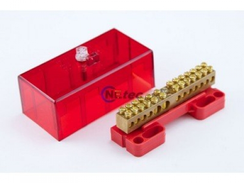 100 Amp Covered Link Red